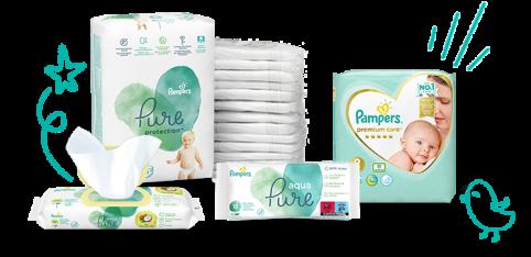 Pampers produkty pro novorozence