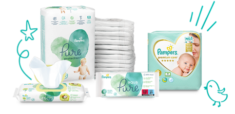 Pampers produkty