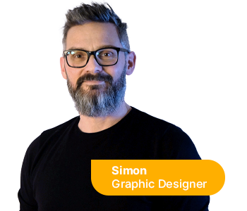 Simon - Graphic Designer