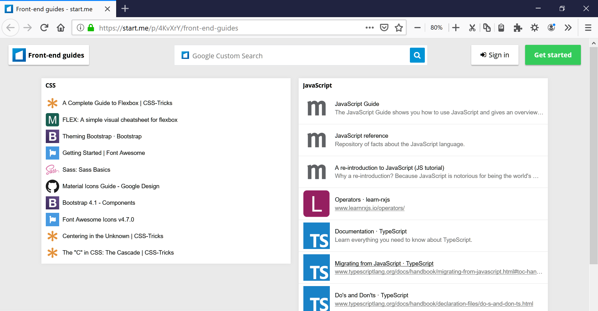 Dropmark Extension share a collection of bookmarks with your team, friends and