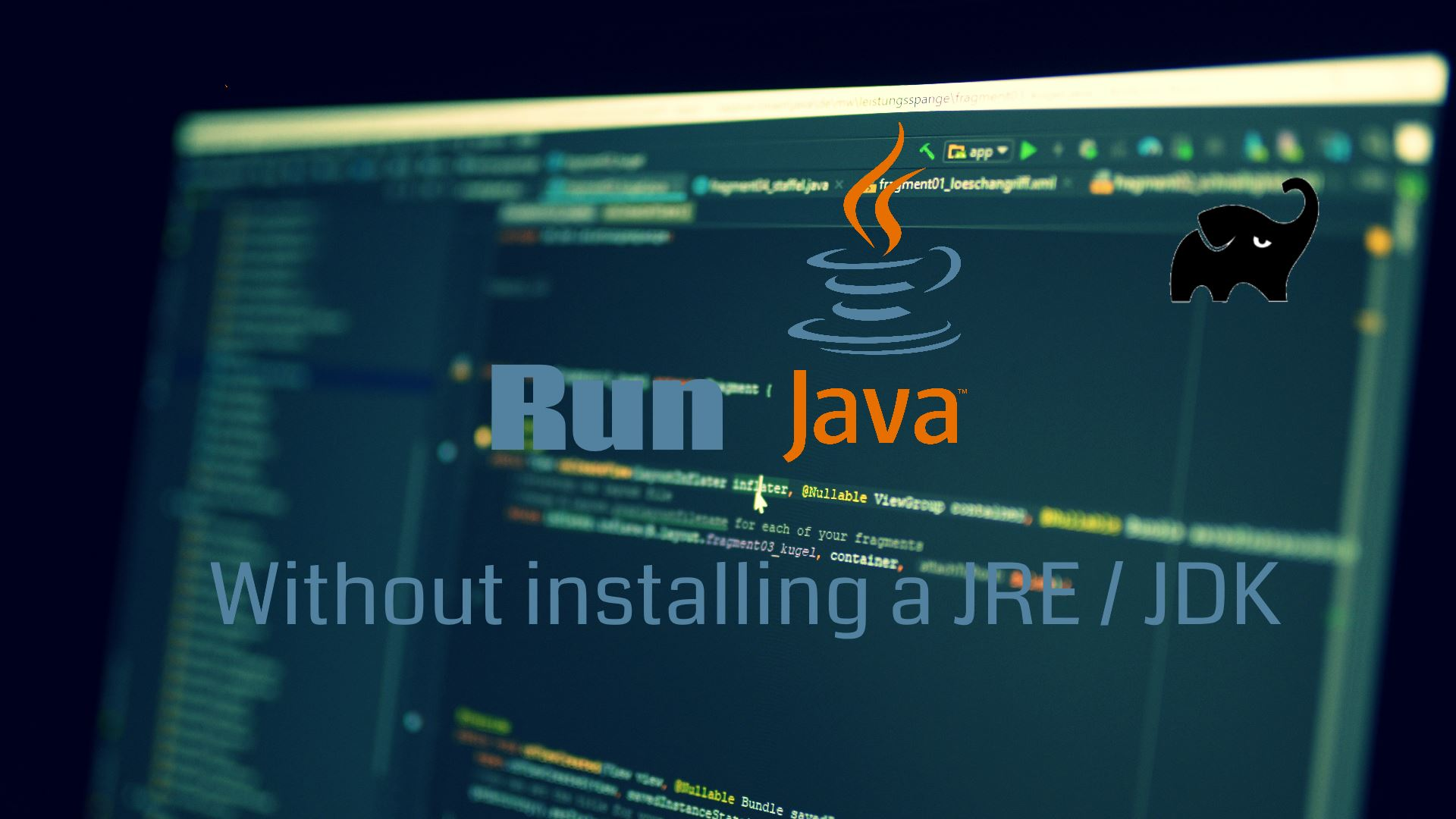 Run Java apps without installing JDK or JRE