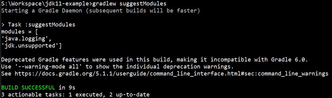 Bundle A Java 11 App Into A Minimal JRE (without Module