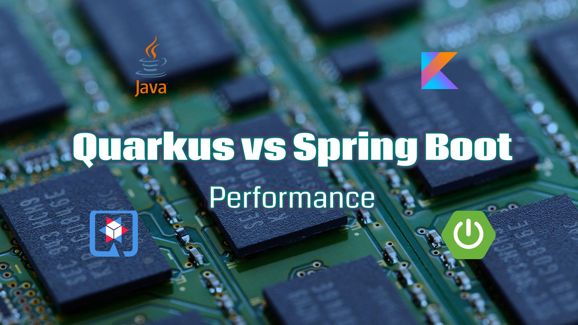 Quarkus vs Spring Boot - A real world JVM Performance comparison for Kotlin and Java on JDK 14