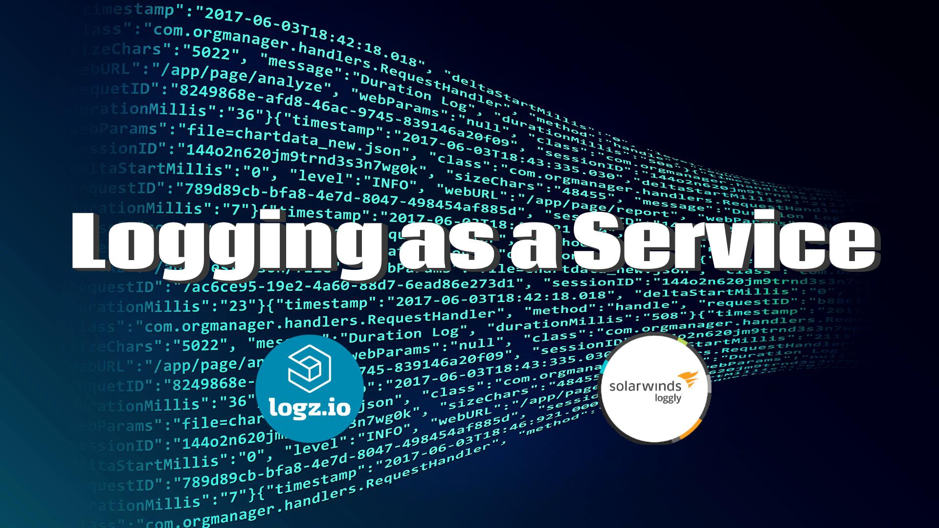 Logging as a Service with Loggly and Logz.io