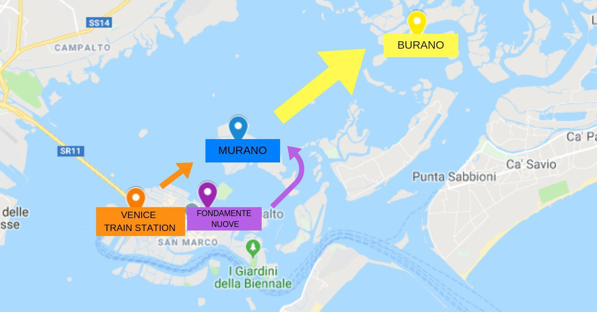 How to Get to Burano from Venice 0