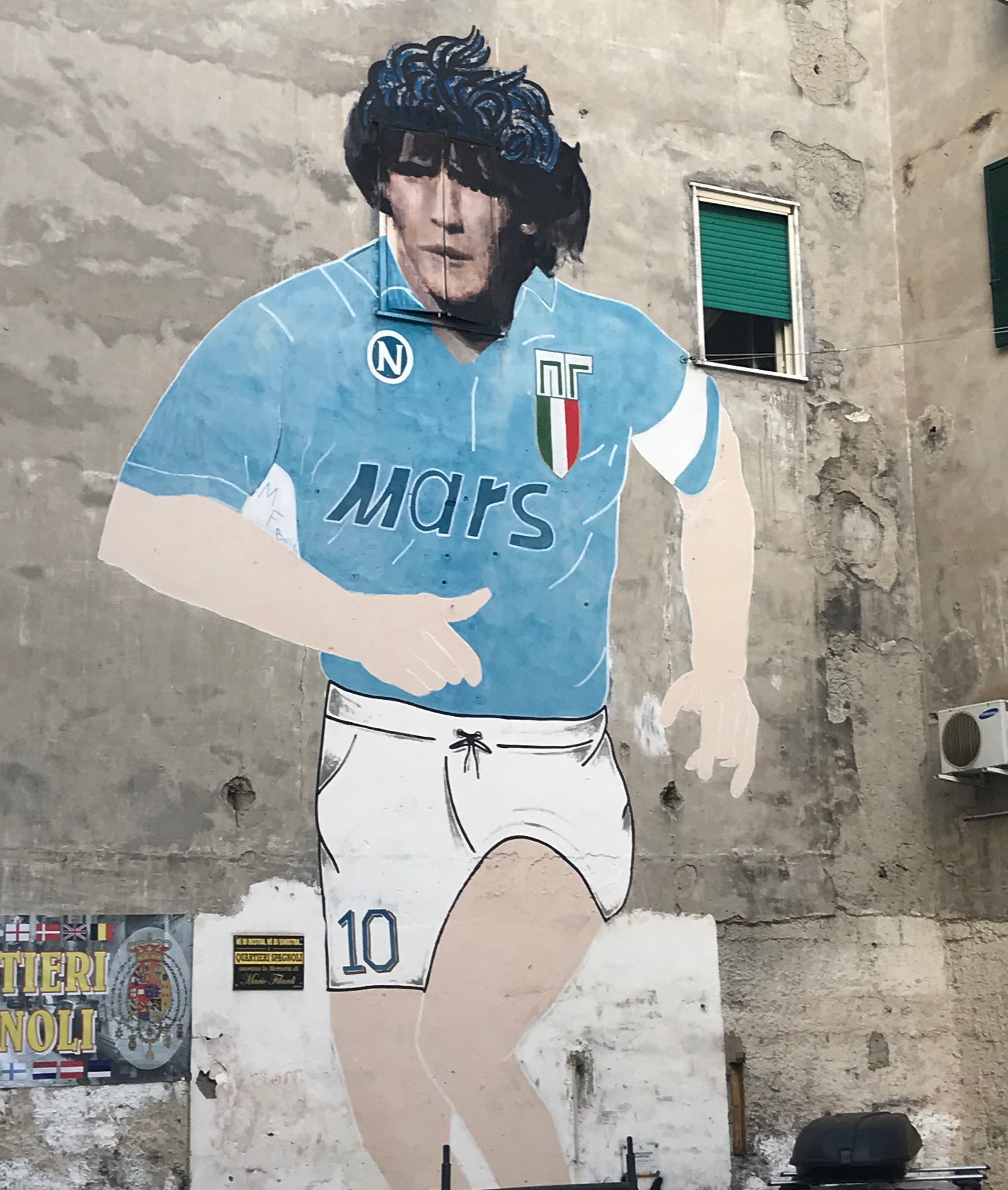 Street art in Naples 1