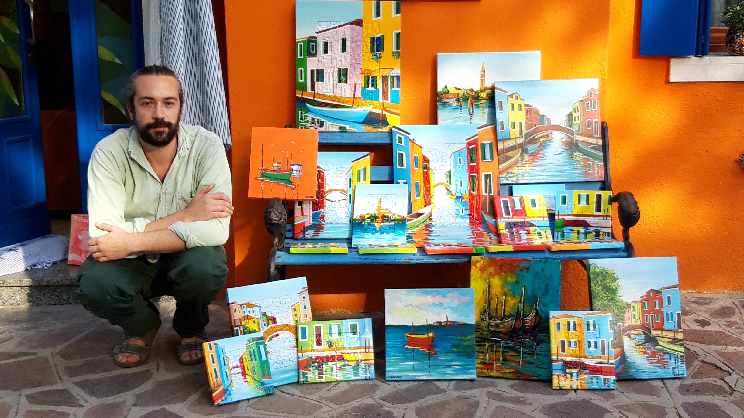 An Artists Family In Burano - La Buranella Art Shop 0