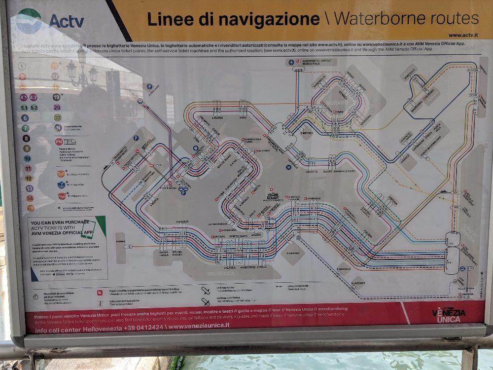 How to Get from the Train Station to Venice City Center 0