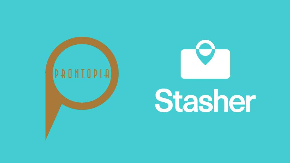 Prontopia Announces Partnership with Stasher