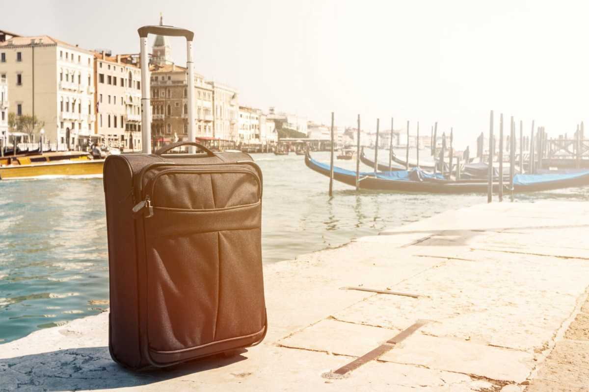 Getting Around Venice with Luggage