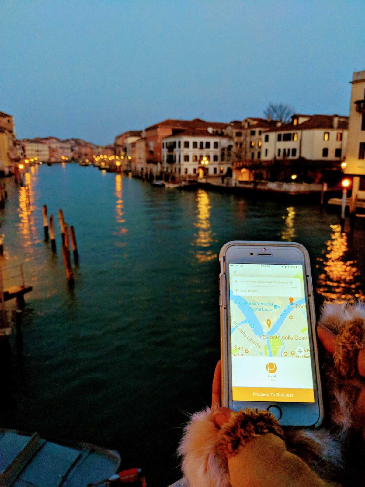 Best App for Getting Around Venice Italy