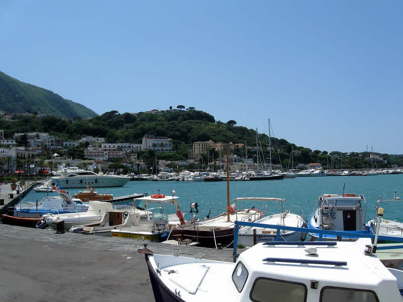 Taking the Ferry from Naples to Ischia