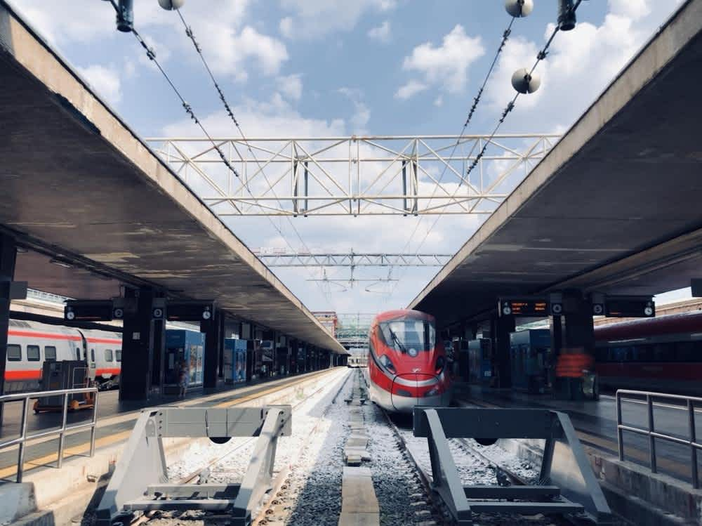 Taking the Train from Rome to Venice
