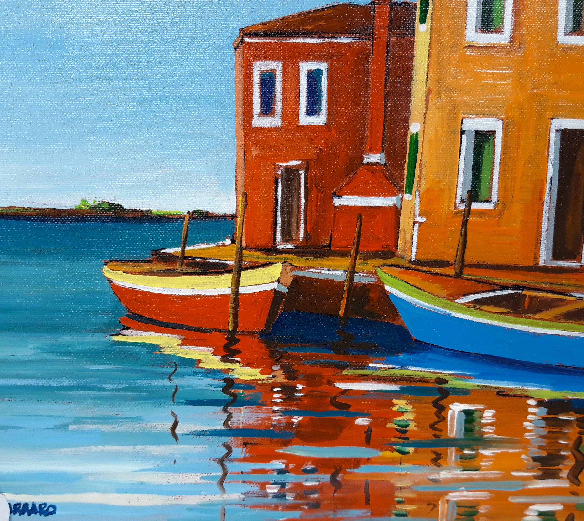 An Artists Family In Burano - La Buranella Art Shop 3