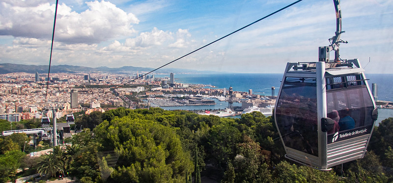 What Is The Montjuic Cable Car Ride in Barcelona? 0