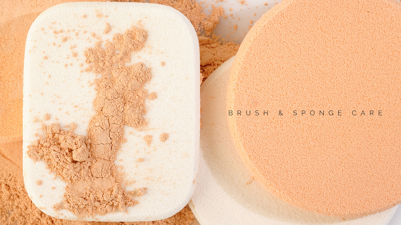 Taking Care of Your Makeup Brushes & Sponges