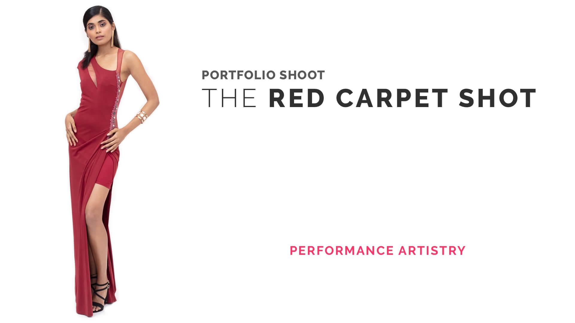 Portfolio Shoot: The Red Carpet Look