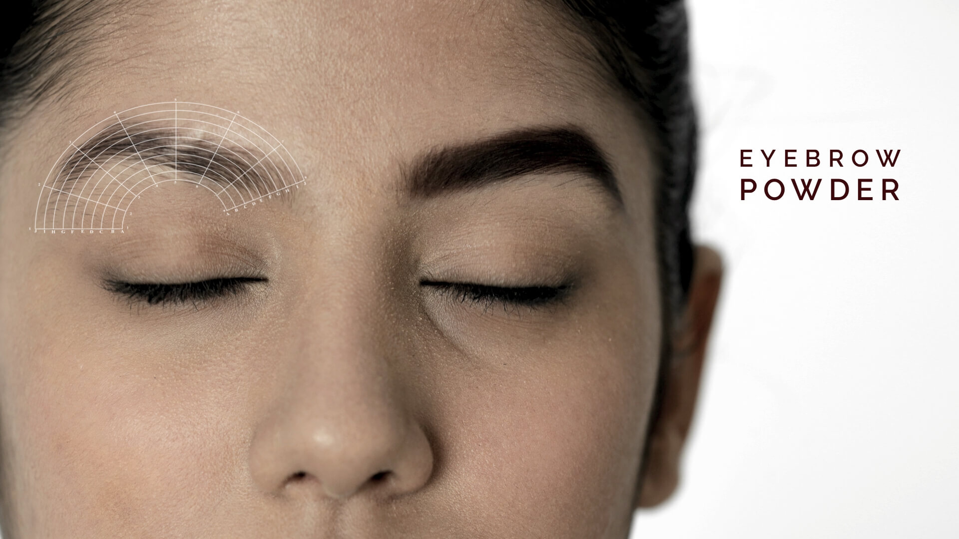 Eyebrow Wax And Powder Application