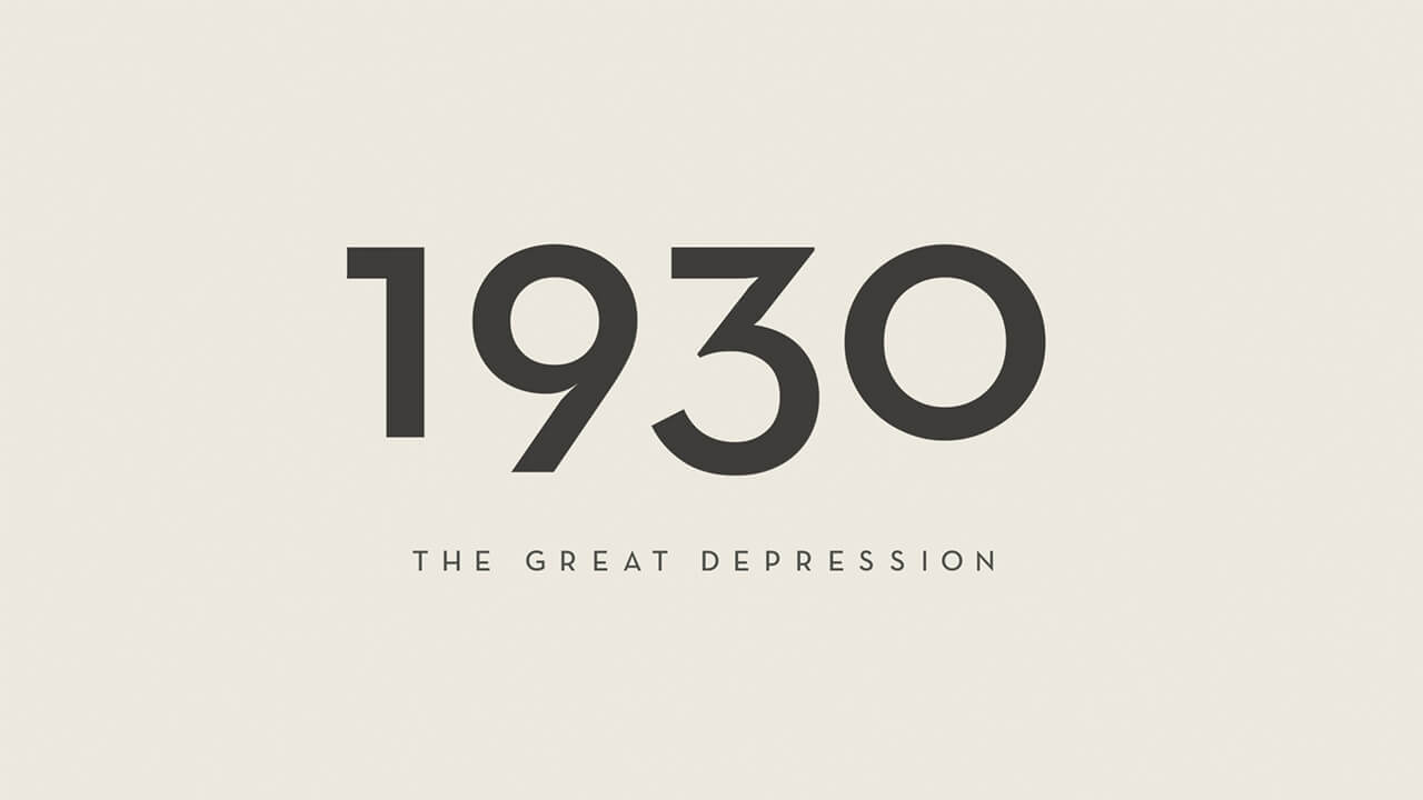 1930 the great depression