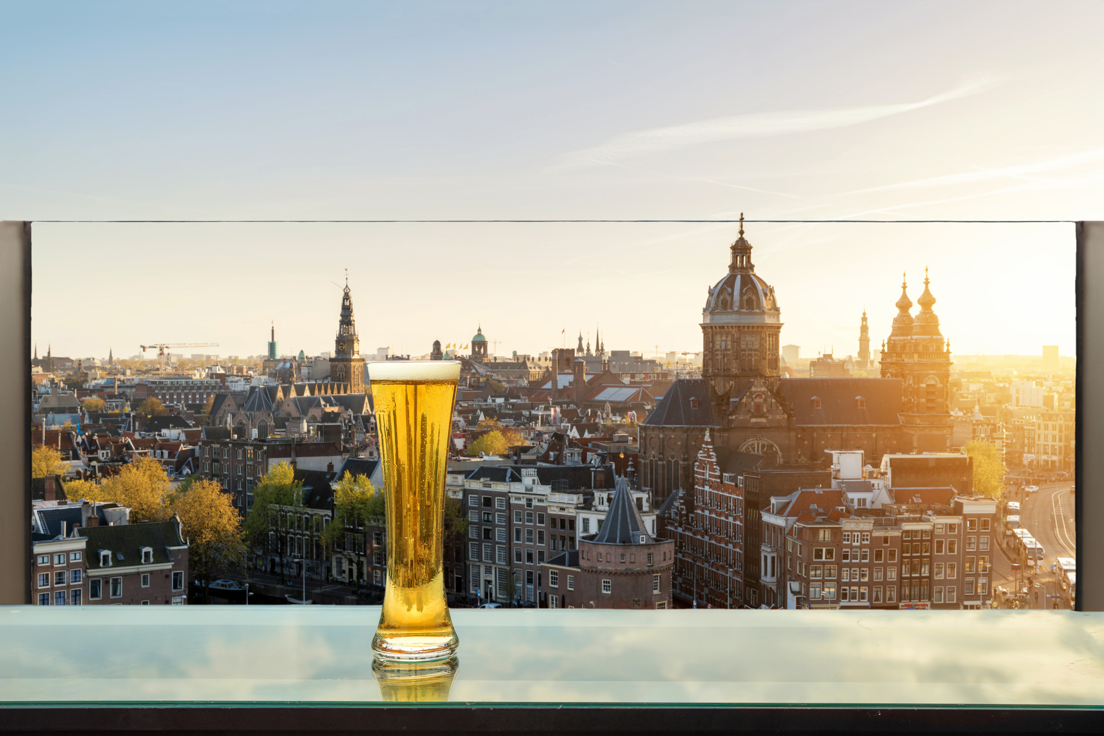 amsterdam best rooftop bars