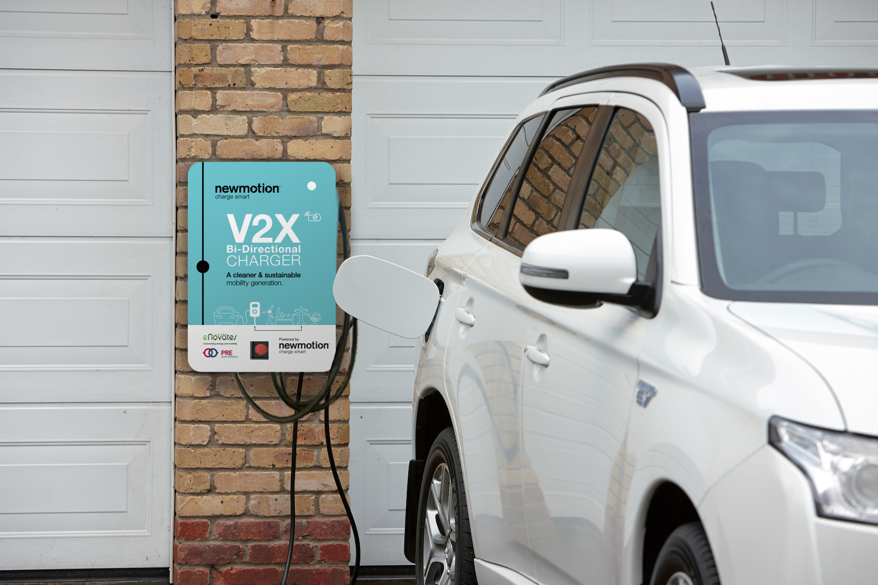 Charging Solutions For Ev Newmotion Making Inverter Technology Car The Future Of With V2x