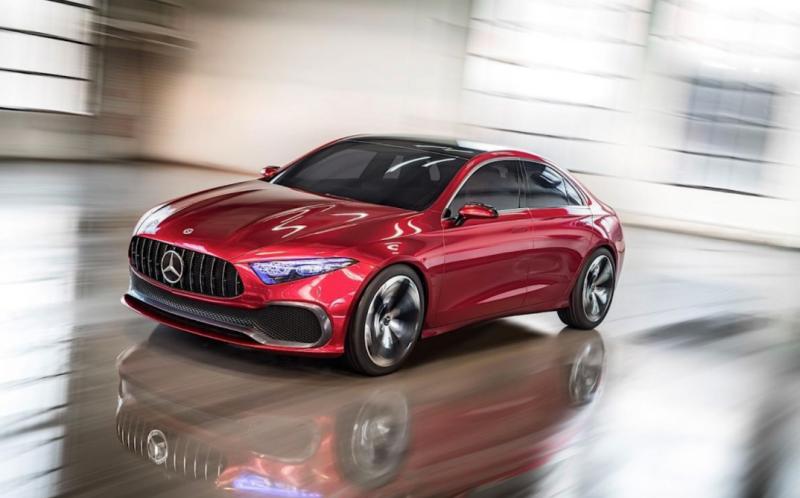 Mercedes - Concept A Sedan