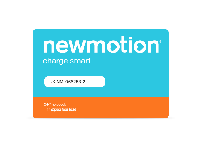 Electric Vehicle Charge Card Network | NewMotion UK