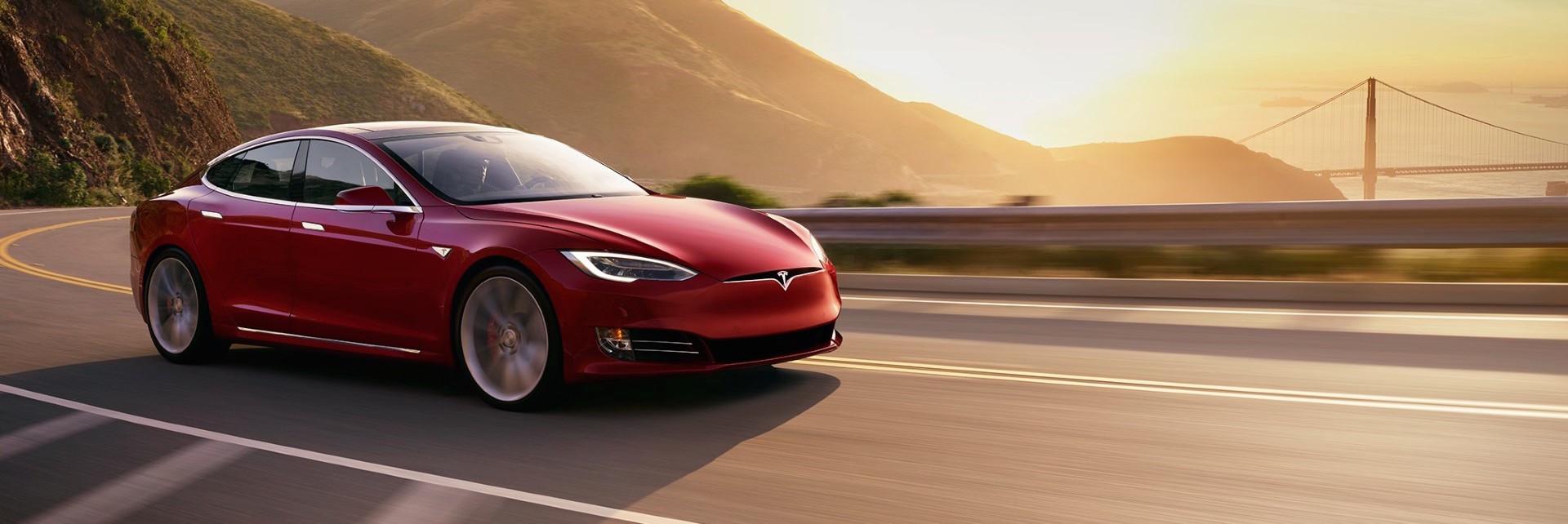 Charging A Tesla Model S 75
