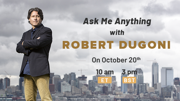 October Book Club Pick and AMA with Robert Dugoni