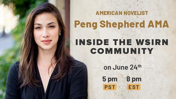 AMA Guest: American Novelist Peng Shepherd!