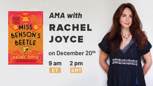 December Book Club and AMA with Rachel Joyce