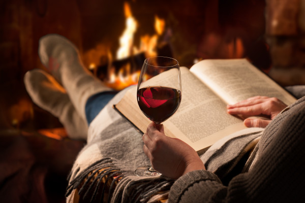 5 Books to Read over a Glass of Wine.