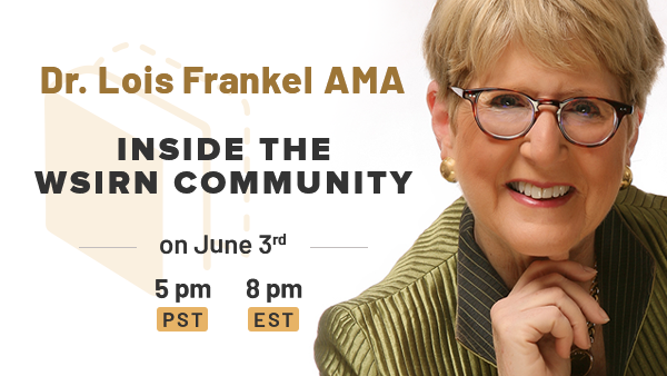 Upcoming AMA: Dr. Lois Frankel