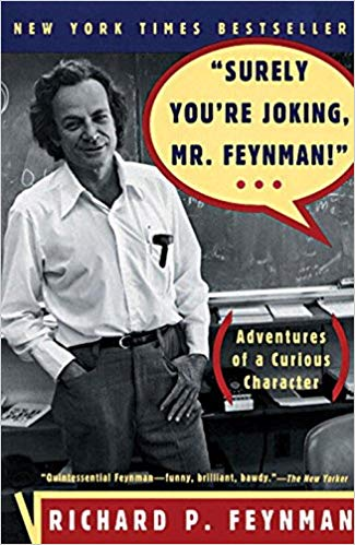 Surely You're Joking, Mr. Feynman!-bookcover