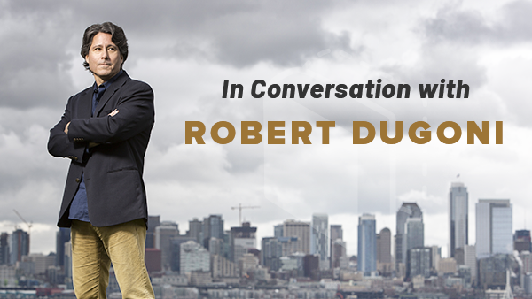 In Conversation with Robert Dugoni