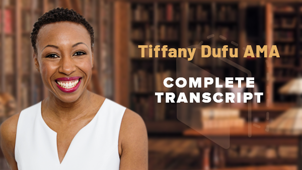 18 Questions with Tiffany Dufu