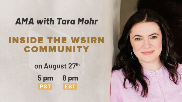 AMA Guest: Leadership Expert & Author Tara Mohr