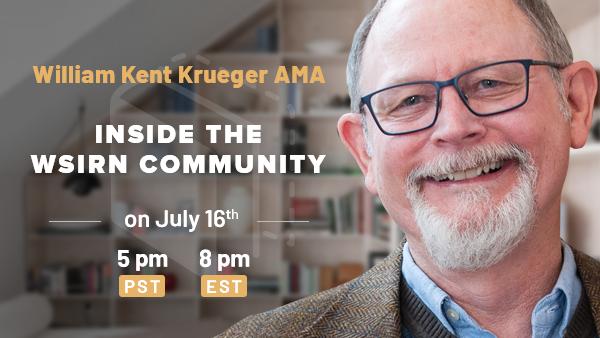 Upcoming AMA : NYT Best-Selling Author William Kent Krueger