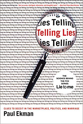 bookcover-Telling Lies- Clues to Deceit in the Marketplace, Politics, and Marriage