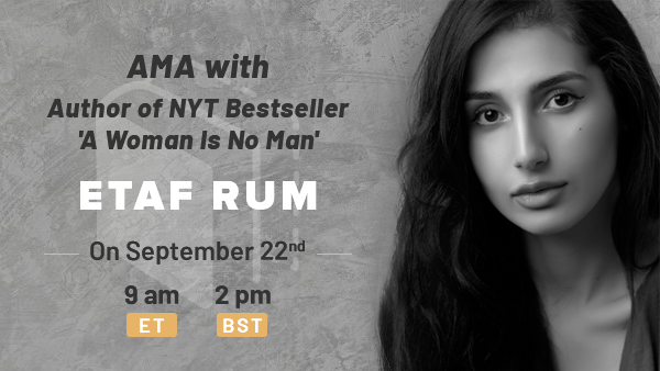 Book Club and AMA: A Woman Is No Man by Etaf Rum