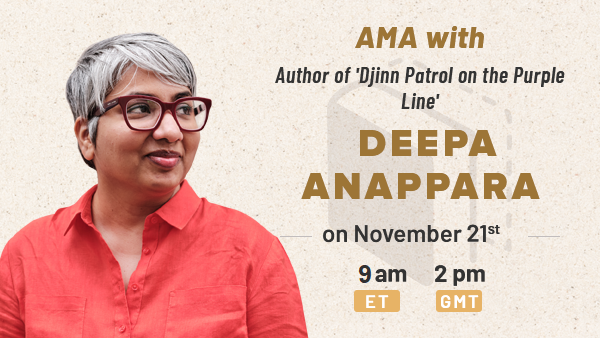 November Book Club and AMA with Deepa Anappara