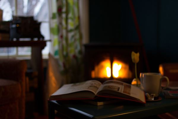 Thought-Provoking Books to Read in Front of a Fireplace
