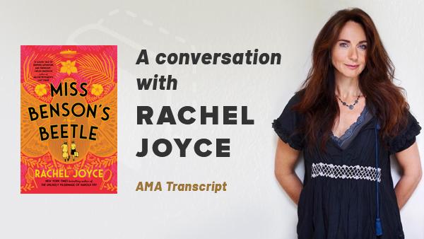 A conversation with Rachel Joyce