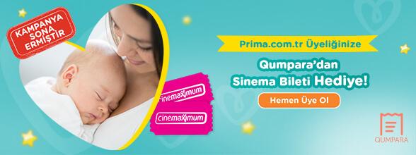 Prima.com.tr üyeliğinize, Qumpara'dan sinema bileti hediye!