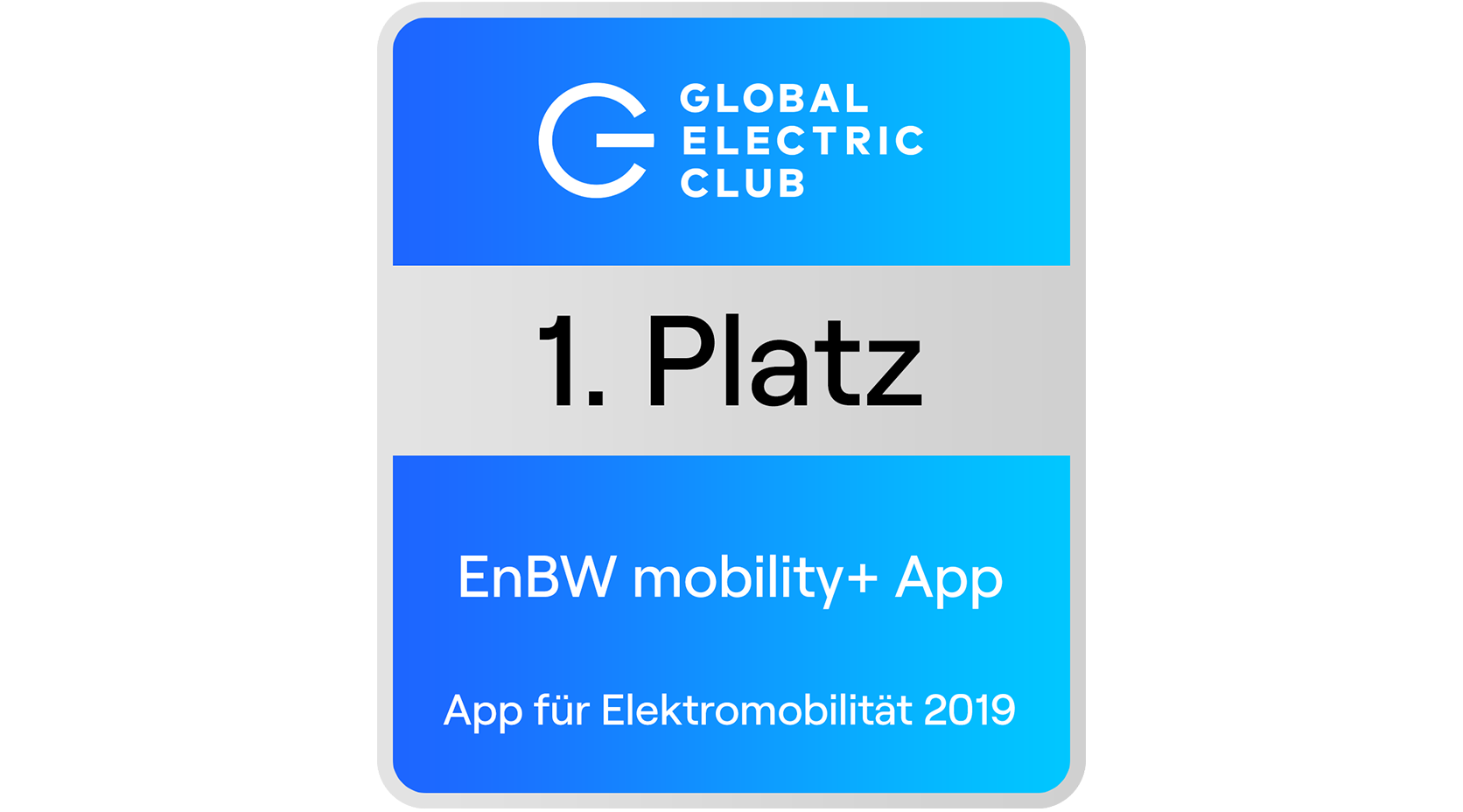 EnBW Global Electric Club Award App für Elektromobilität 2019