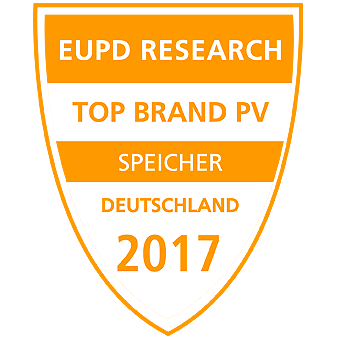 SIegel EUPD Resaerch Top Brand PV Speicher 2017