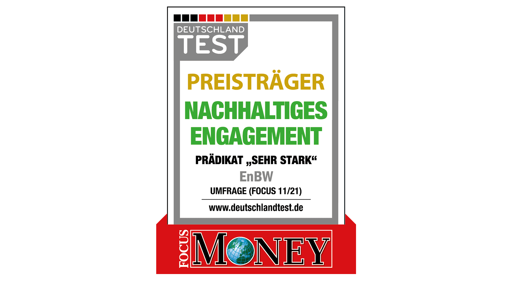 Focus Money Siegel Nachhaltiges Engagement