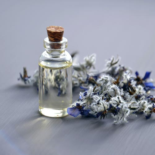 lawendowy zapach
