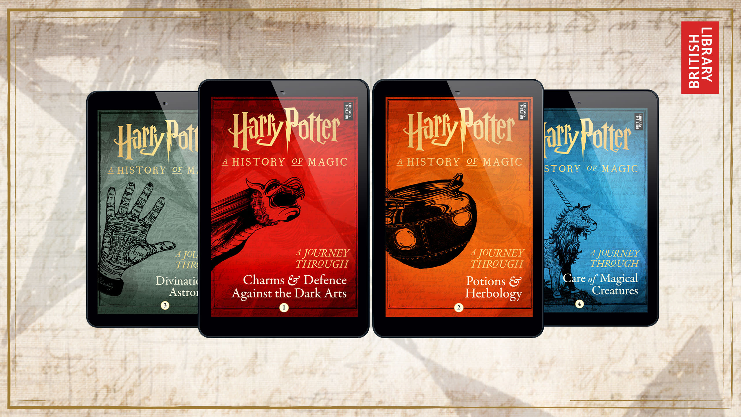 Harry Potter: A Journey Through... series homepage image