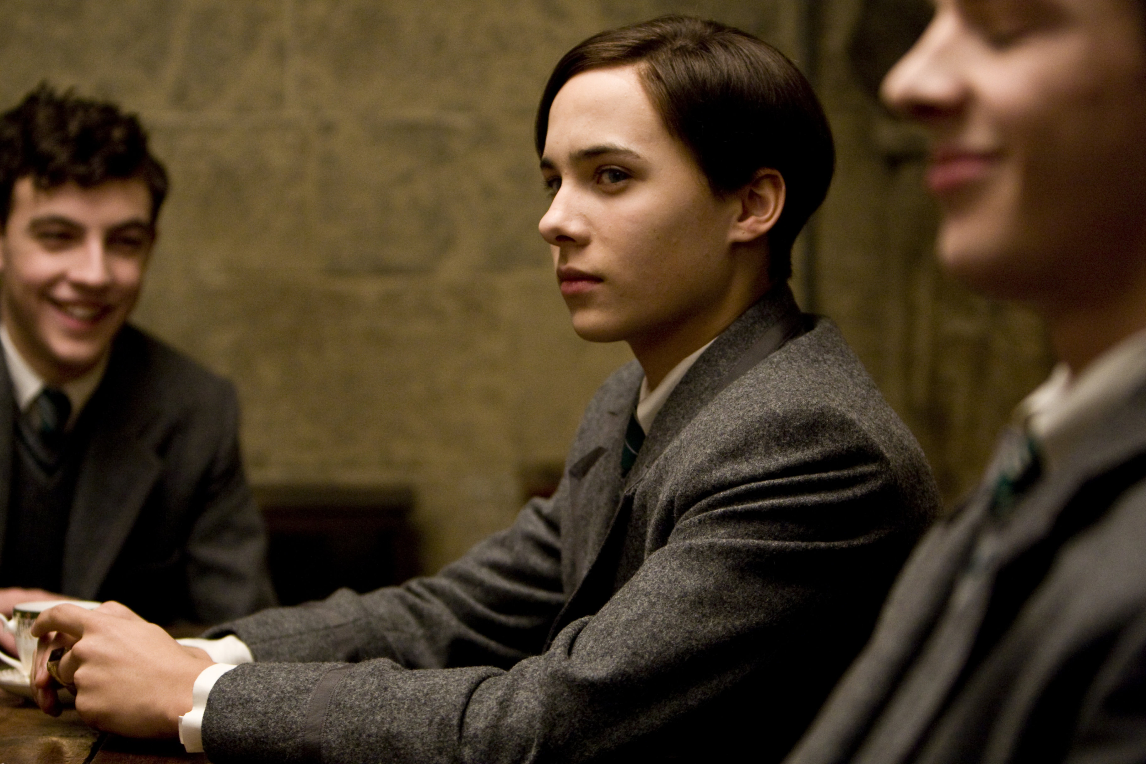 family members, When the young Voldemort from Harry Potter and the Half-Blood Prince (2009) was played by Ralph Fienness' nephew
